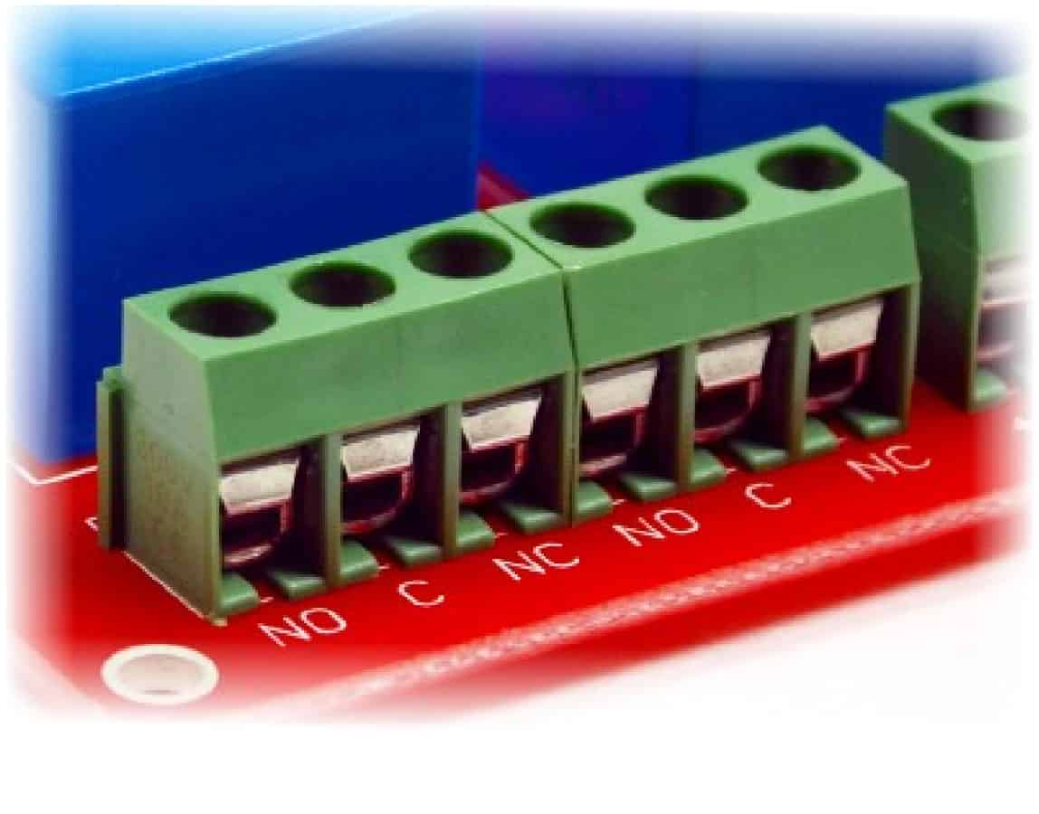 8 Channel Usb Relay Module Numato Lab Help Center The Polarity Control Is Switched Off When Q1 Covered By This Has Two Mechanical Relays That Can Switch Up To 10a Of Current All Contacts On Available Externally Screw Terminals For Easy