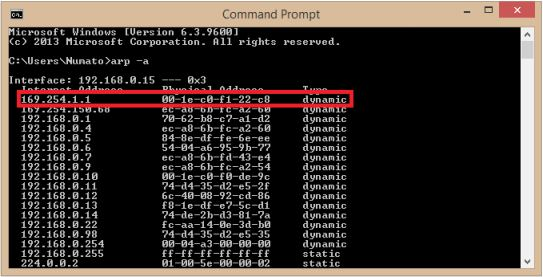 16 Channel Ethernet GPIO Module Command Prompt
