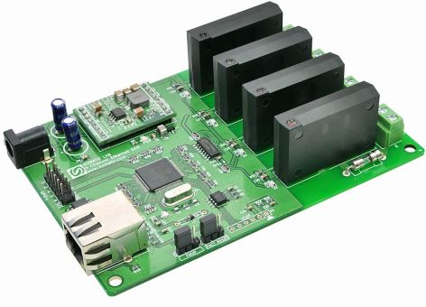 4 Channel Ethernet SS Relay Module