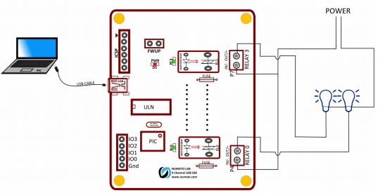 4-Channel-USB-SS-Relay-Module-Connection-Diagram  Channel Relays Wiring on control 24v solenoid valve arduino, controlling motor using, mechanical 5v hobby,