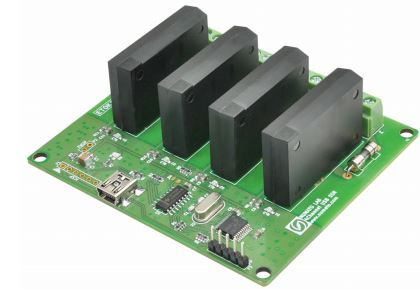 4 Channel USB SS Relay Module
