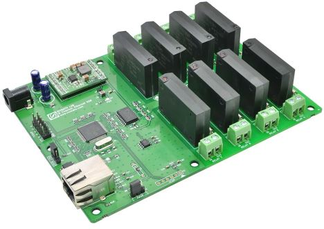 8 Channel Ethernet SS Relay Module