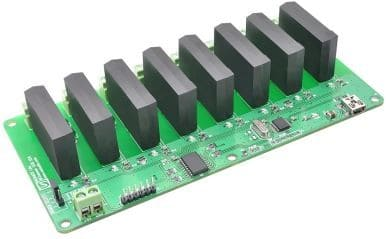 8 Channel USB SS Relay Module