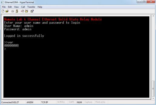 EthernetSSR - HyperTerminal3