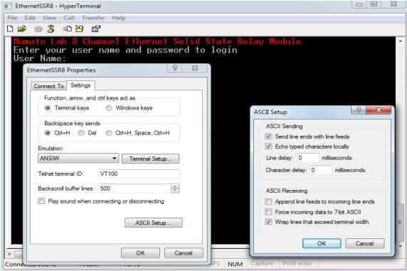EthernetSSR8 - HyperTerminal1