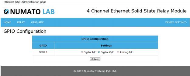 GPIO Configuration1