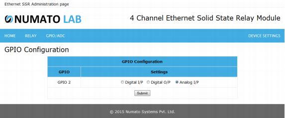 GPIO Configuration2