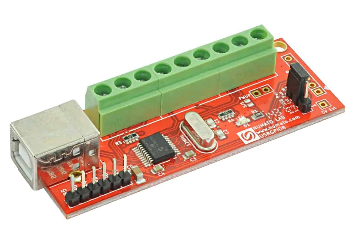 Numato 8 Channel USB GPIO Module