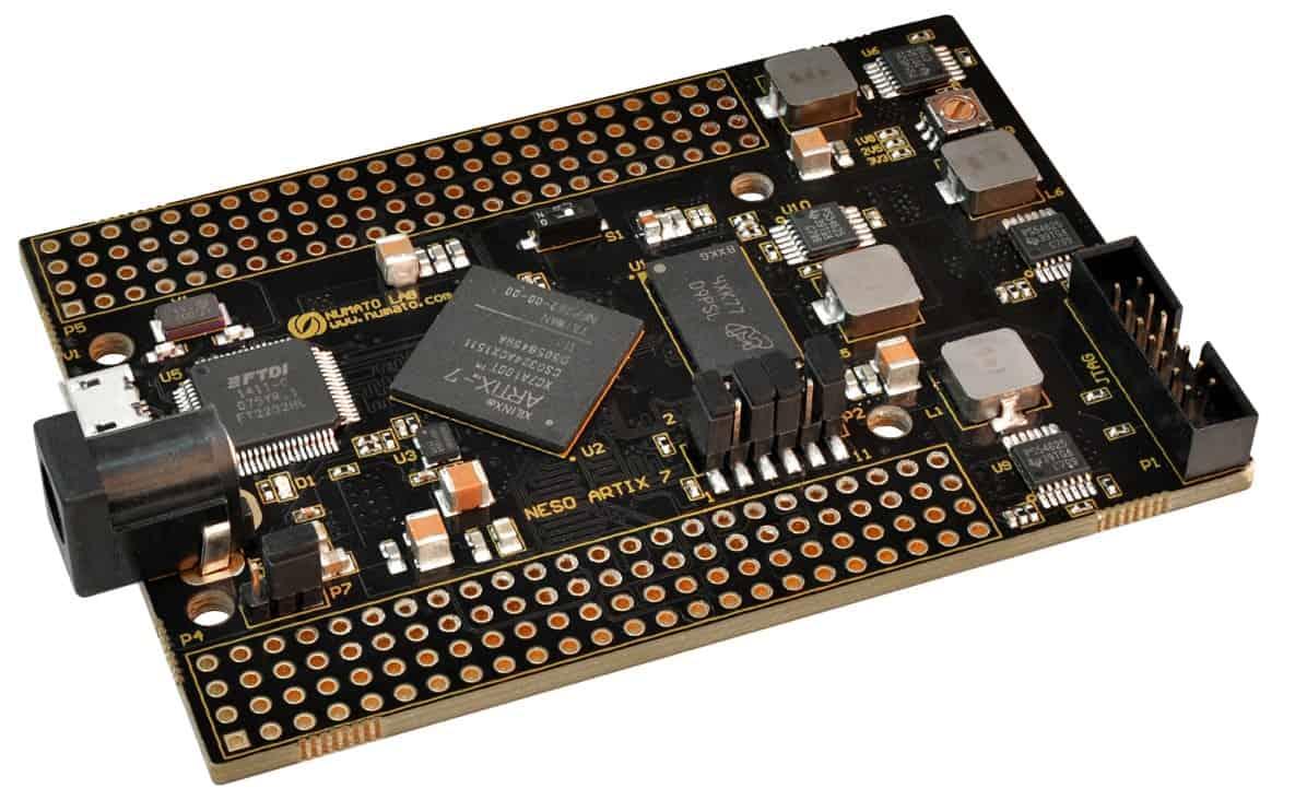 Neso Artix 7 FPGA Module