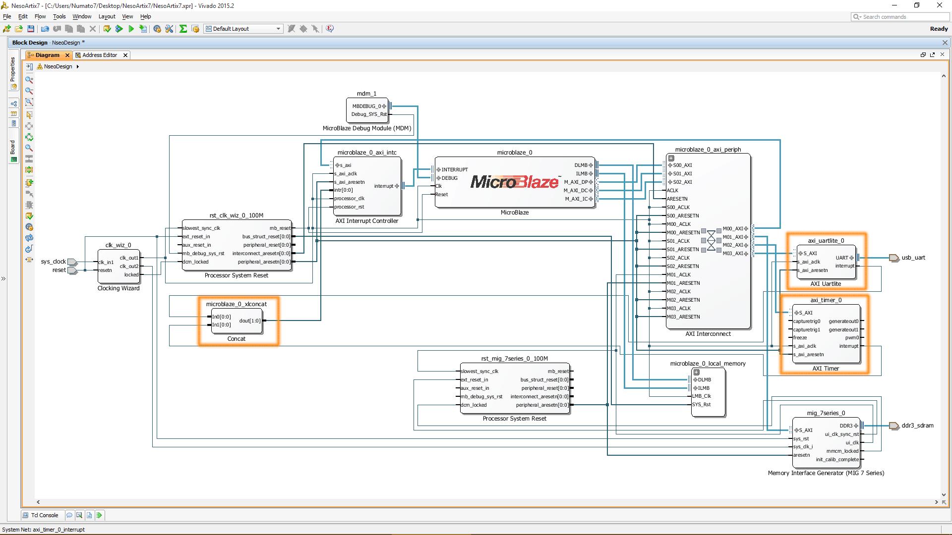Vivado Complete System