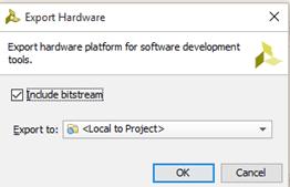 Vivado Export Hardware 2