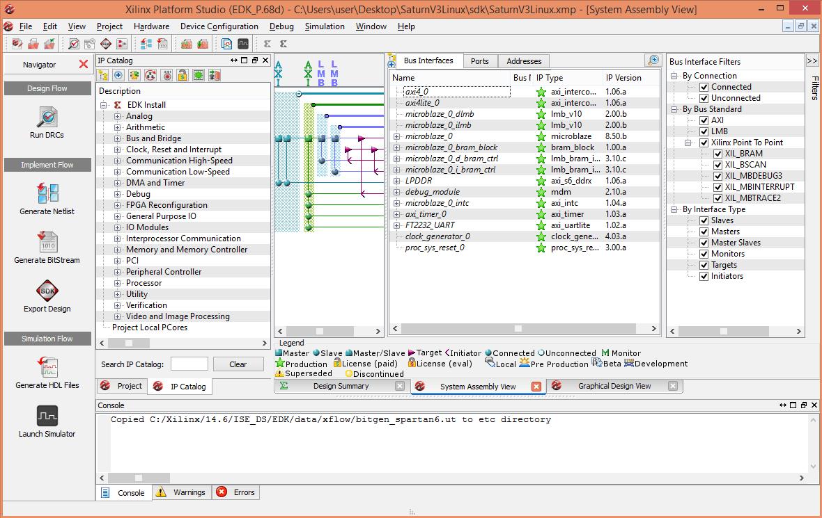 Xilinx Platform Studio