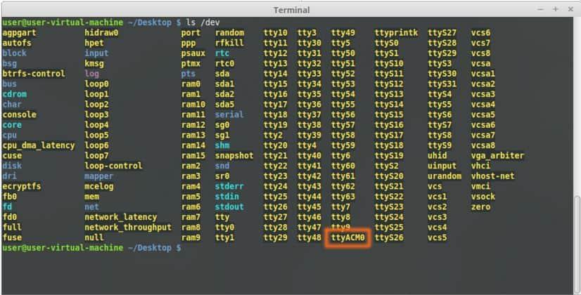 1 Channel USB GPIO on Linux