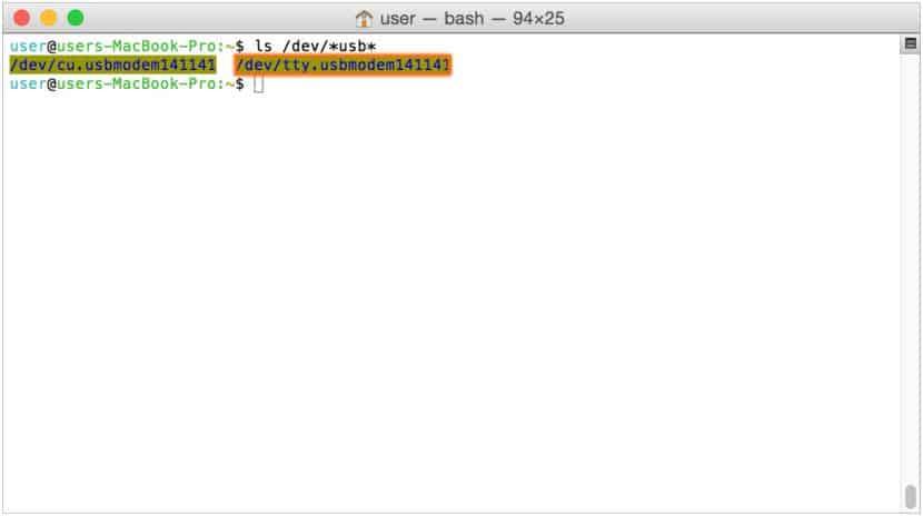 1 Channel USB GPIO Module on Mac
