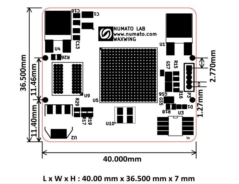 waxwingmini-dimensions