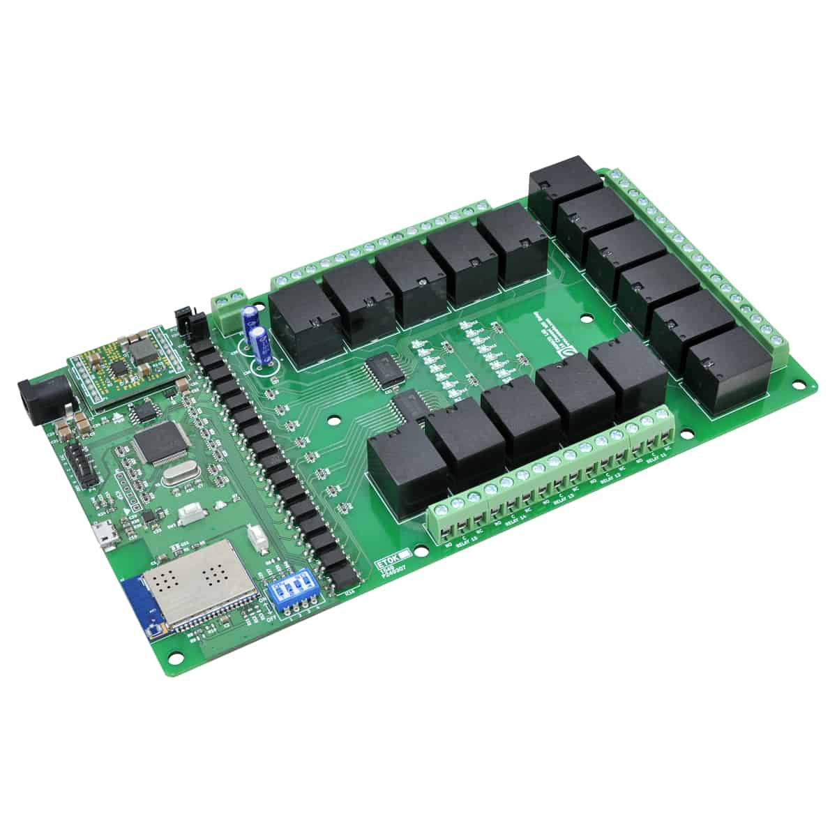 16 Channel Wifi Relay Module Numato Lab Help Center How To Build Electronic Selector For 10 Sources With Display Drive 16channelwifirelay 1
