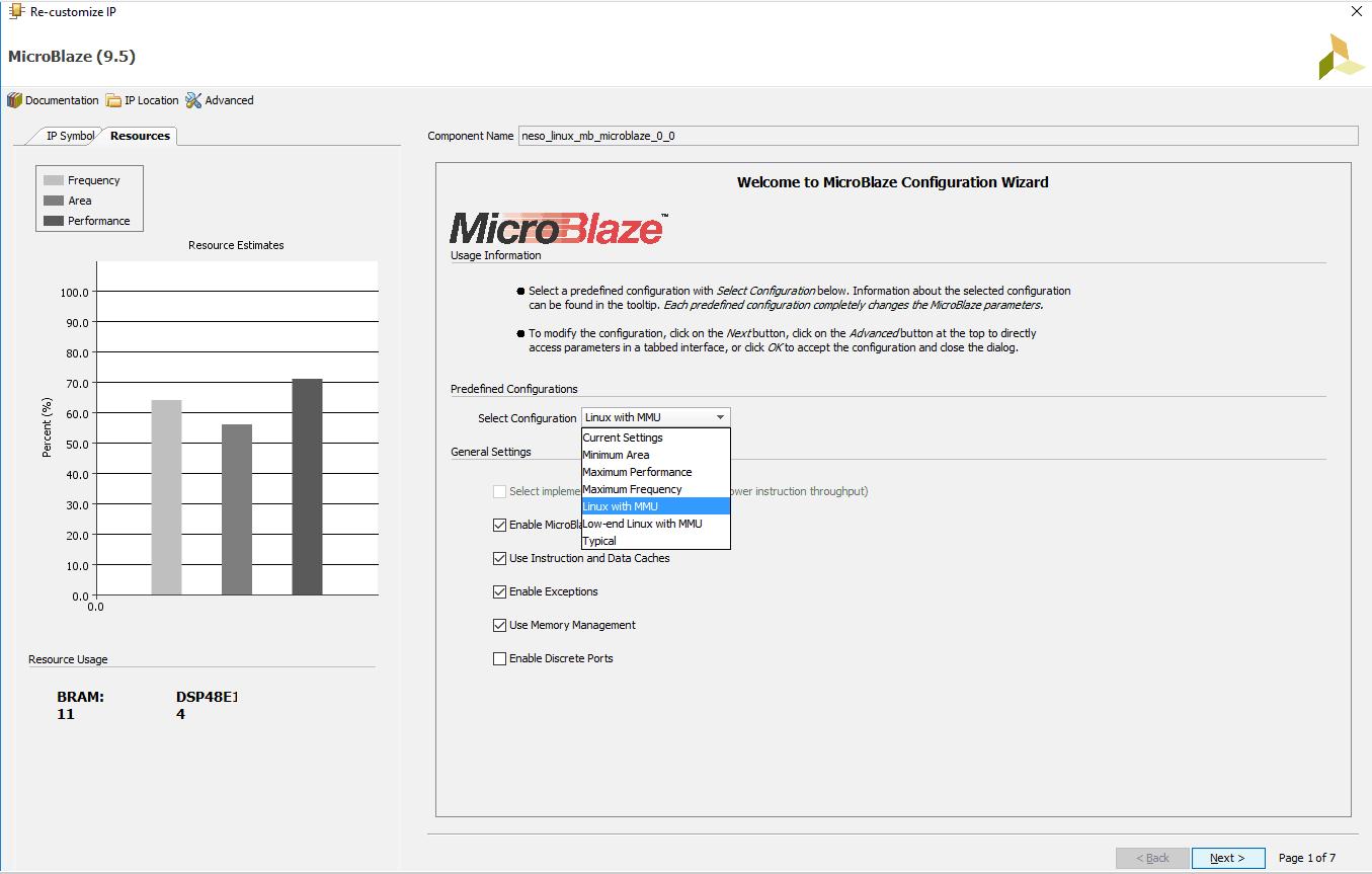 Neso_Linux_1_Microblaze_MMU