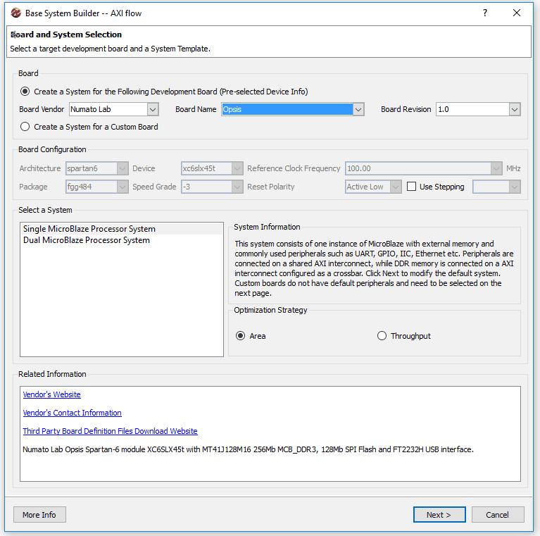 OpsisLinux_2_bsbwizard_select_board1