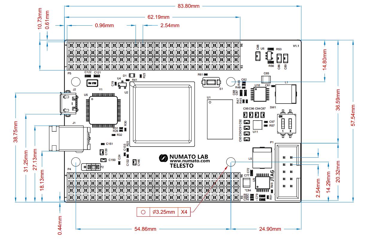 Telesto MAX 10 FPGA Module | Numato Lab Help Center