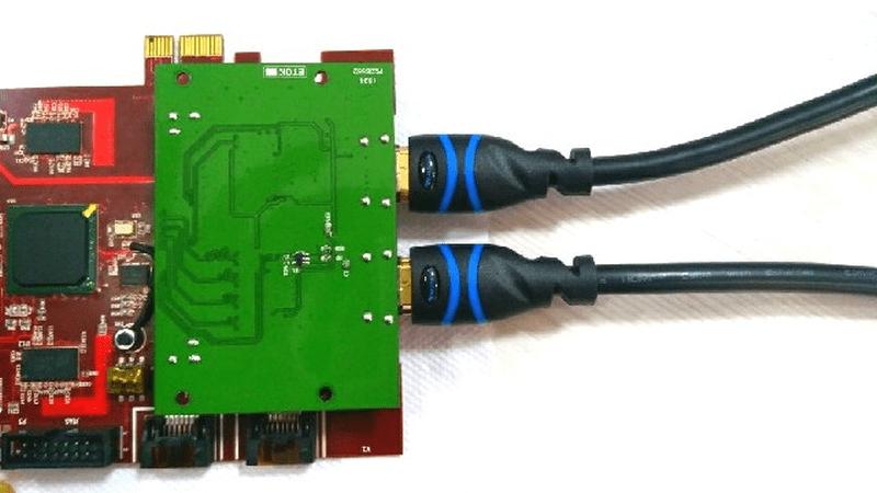 Dual-HDMI Output Example Design using Galatea PCI Express