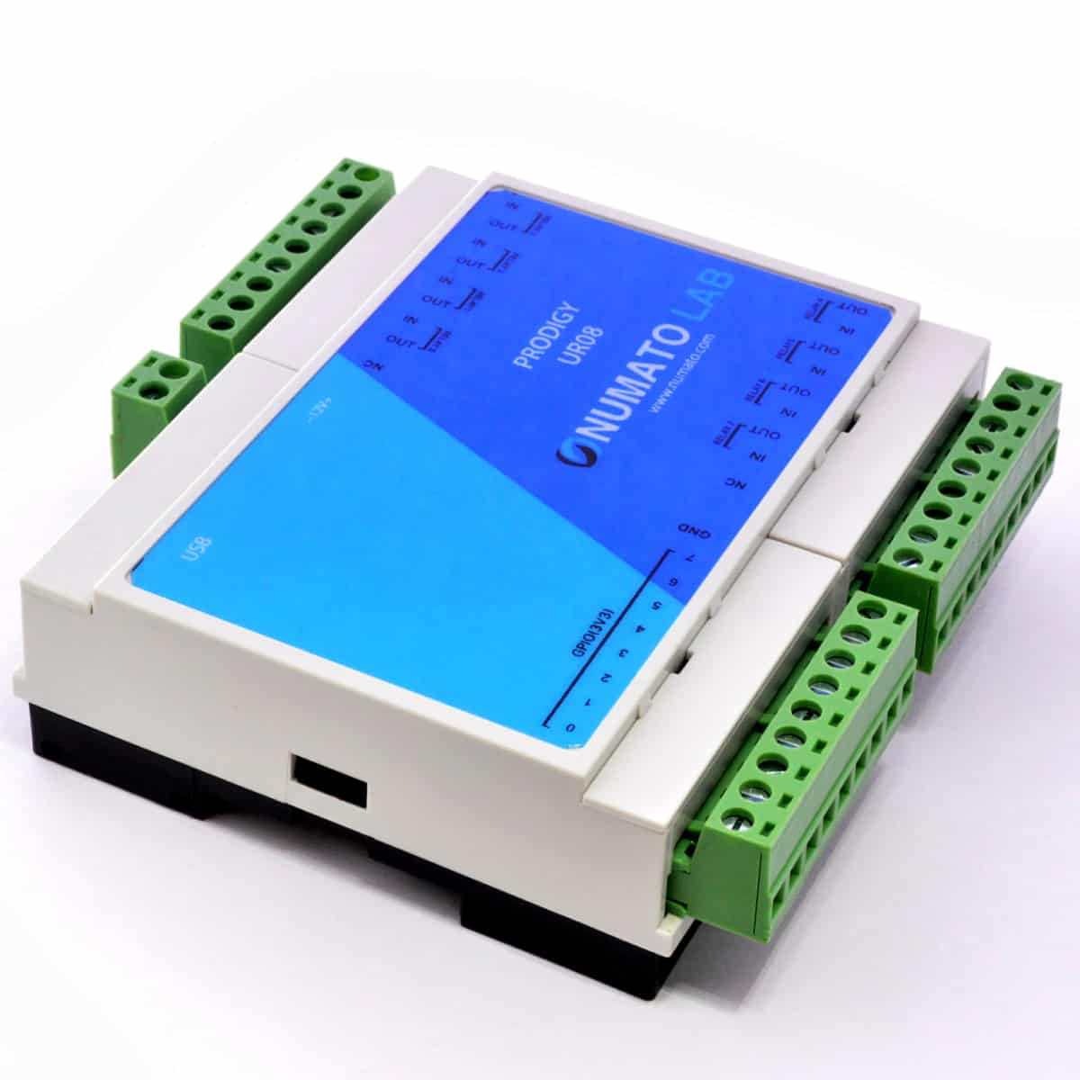 Prodigy Usb Modbus Relay Modules With Analog And Digital Inputs Din Electric Cost Numato Labs 8 16 Channel Rail Compatible Module Io Offers Great Flexibility At Lower