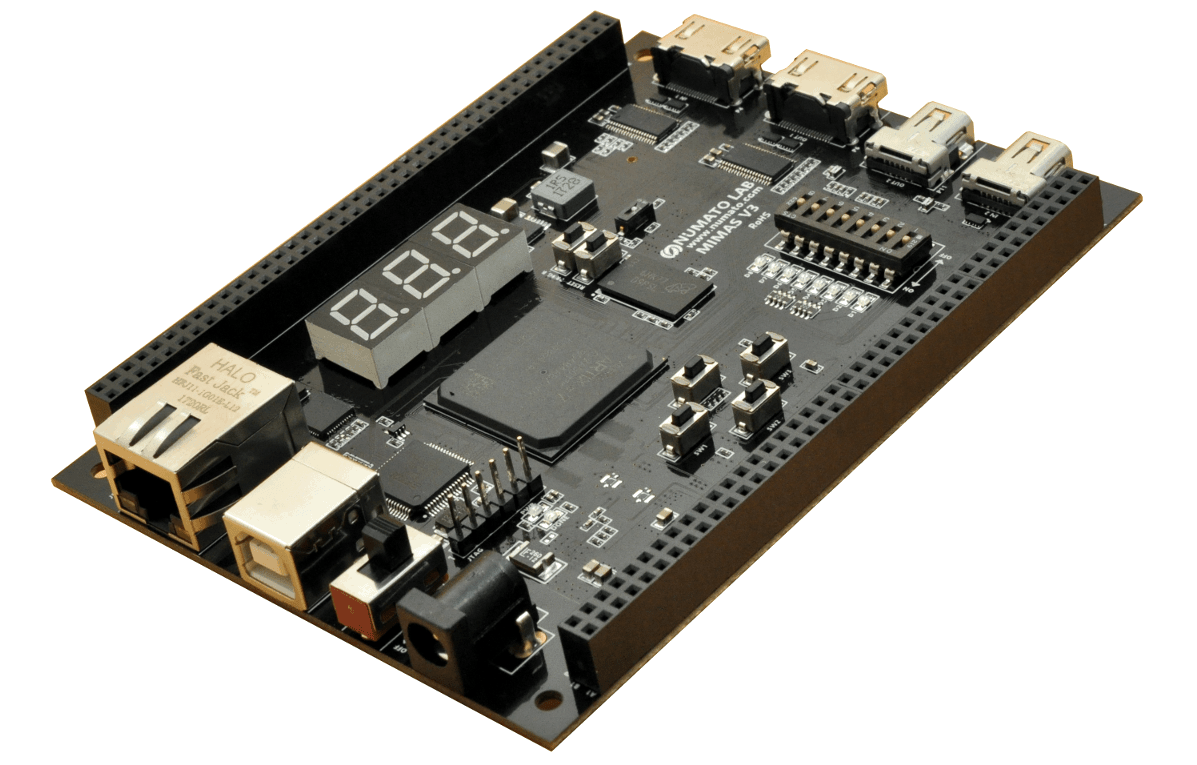 Gigabit Ethernet Example Design using Vivado for Mimas A7
