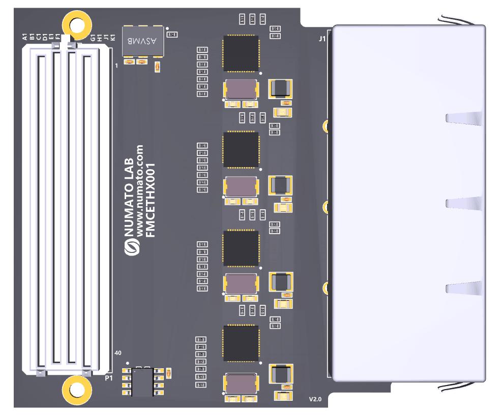 4 Port Gigabit Ethernet FMC Module | Numato Lab Help Center