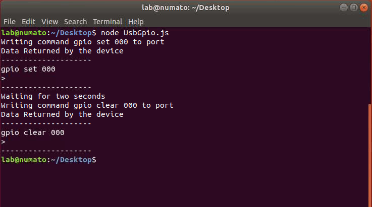 Node.JS GPIO On Linux
