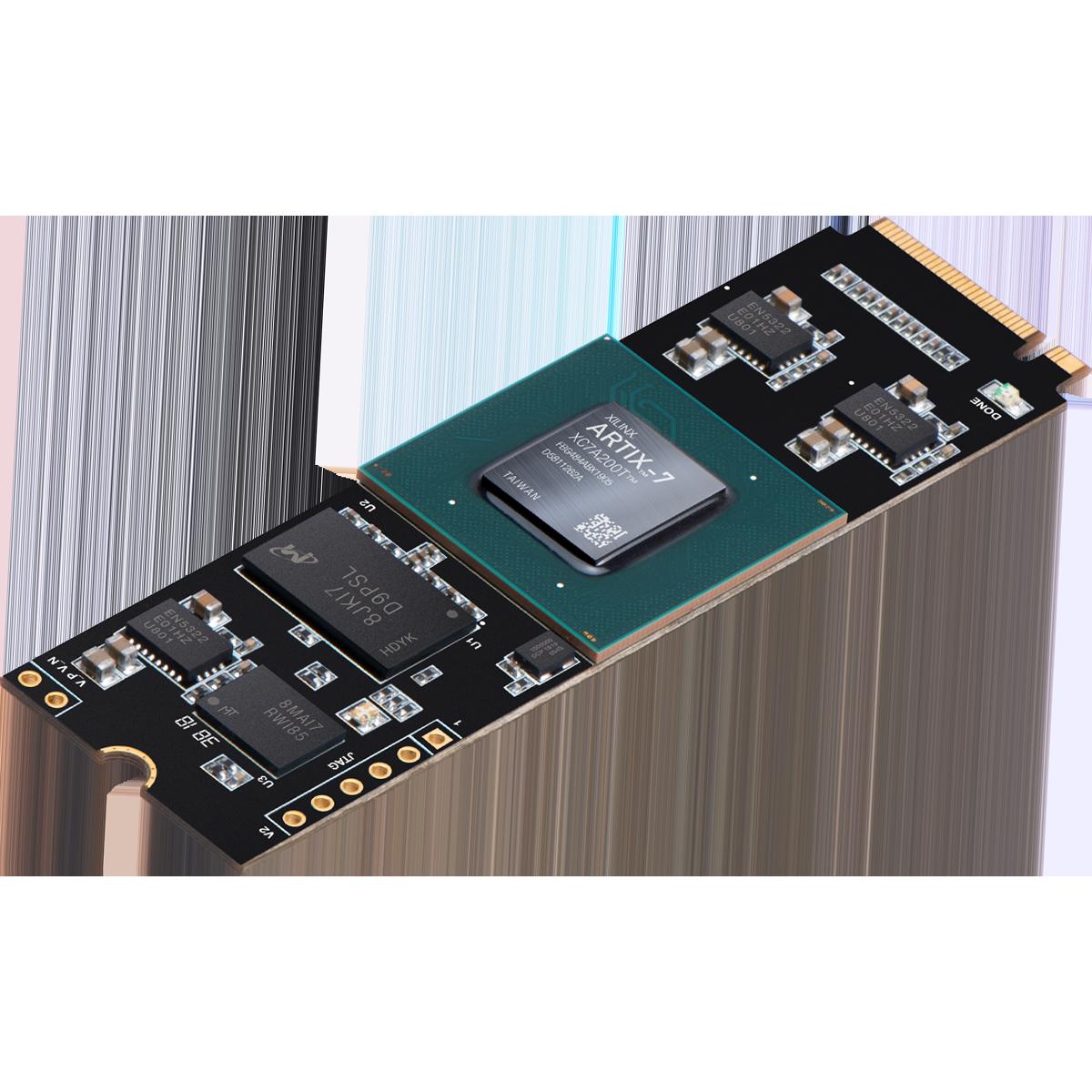 Aller Artix-7 FPGA Board with M.2 Interface