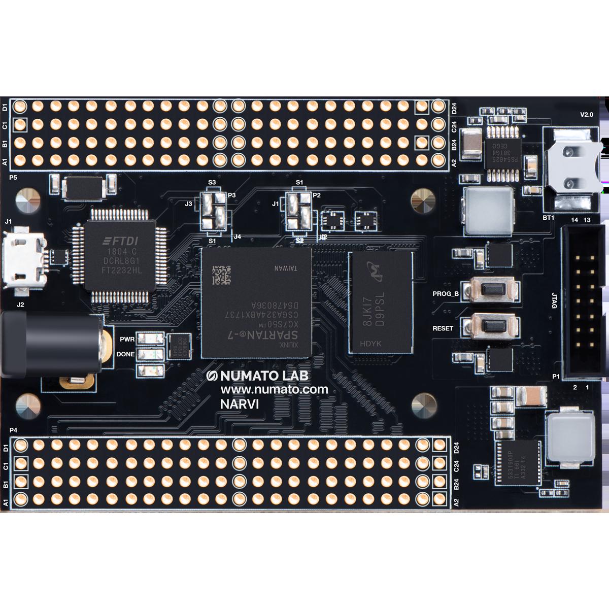 Narvi - Spartan 7 FPGA Module