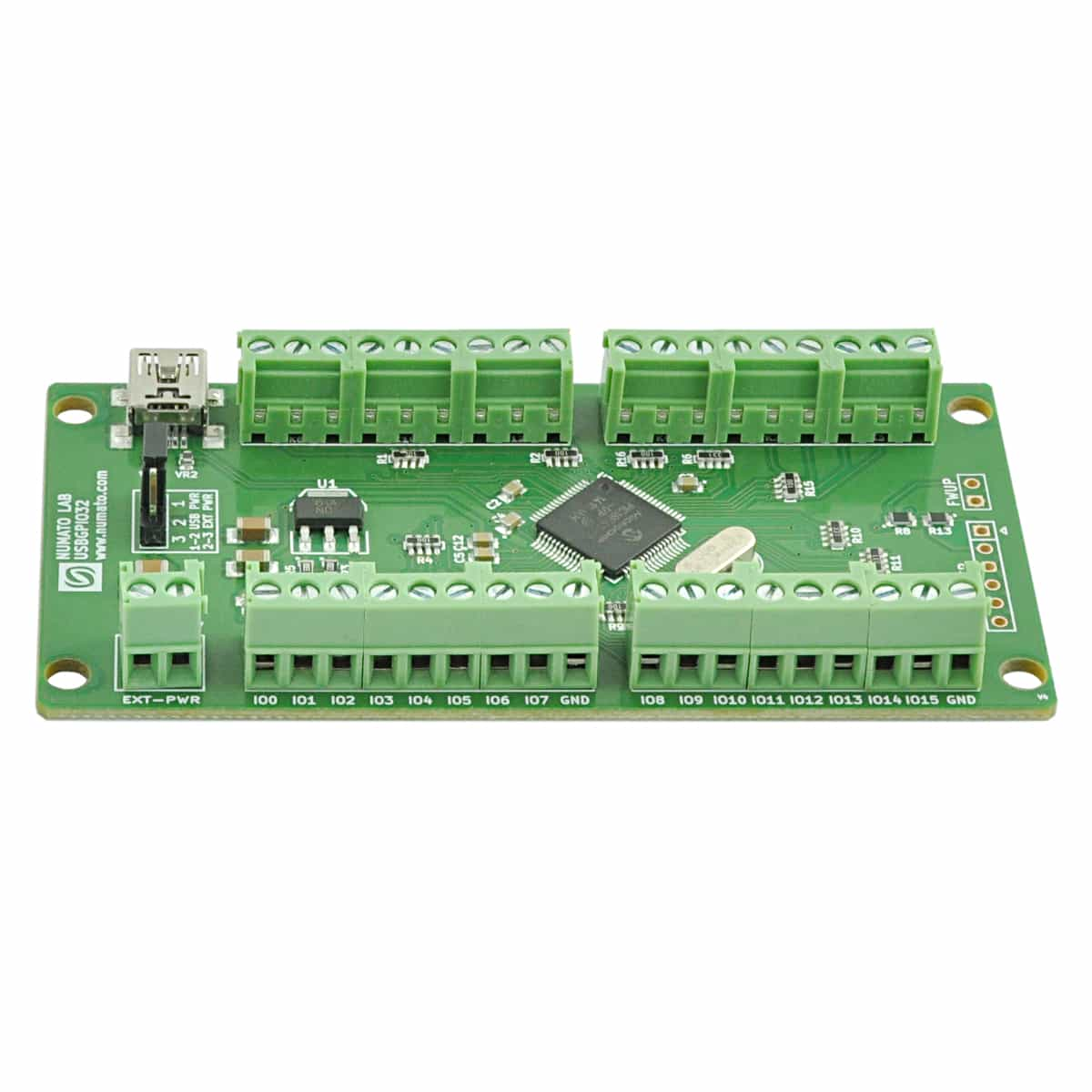 32 Channel Usb Gpio Module With Analog Inputs Numato Lab Download Image Circuit Board Desktop Computer Pc Android Iphone And