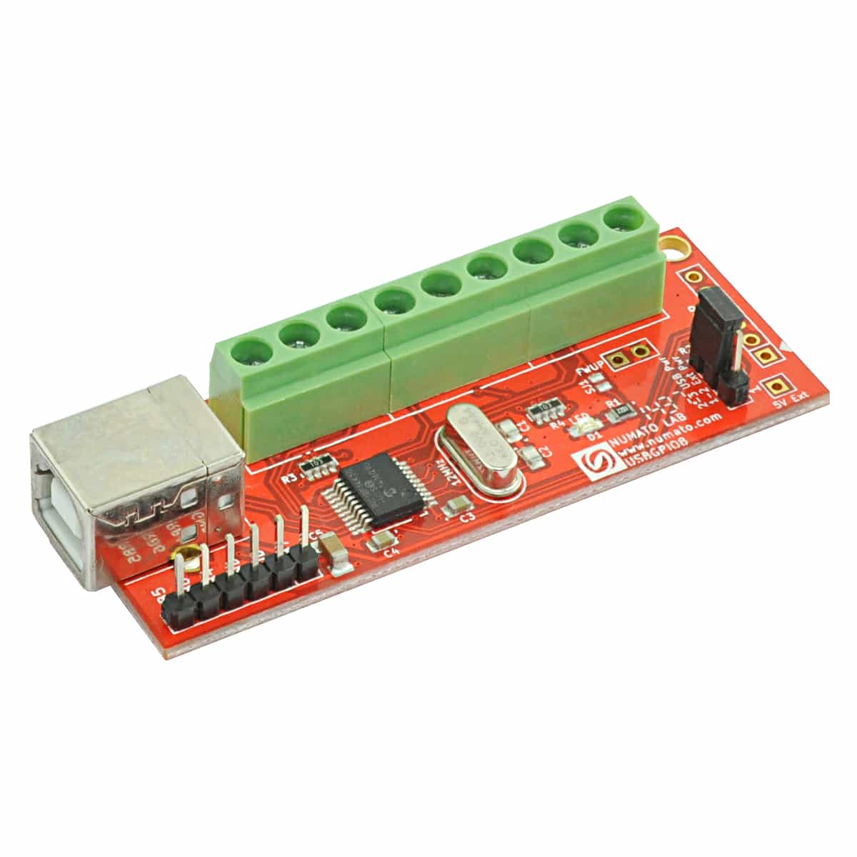 8 Channel Usb Gpio Module With Analog Inputs Numato Lab Rca To Converter Schematic