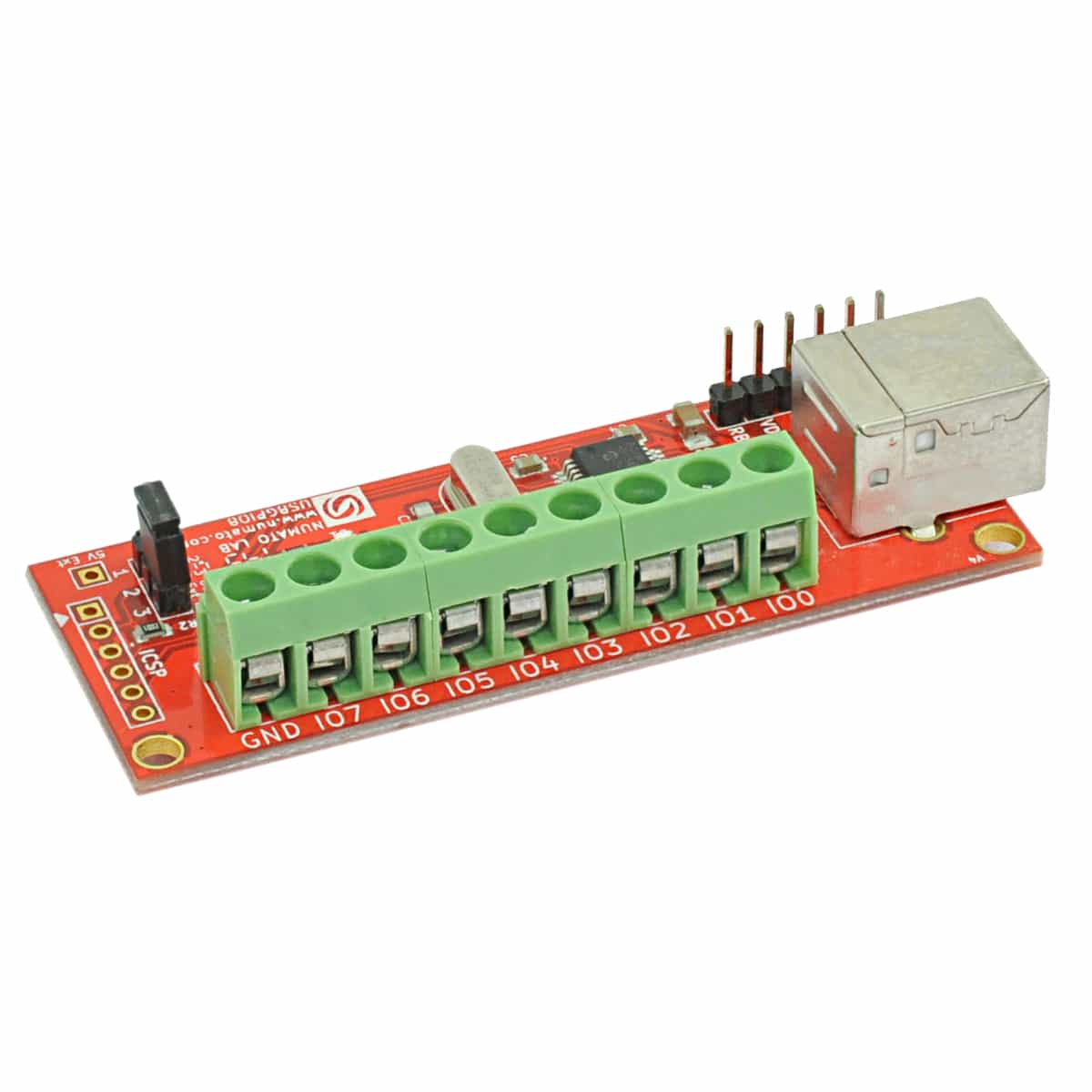 8 Channel Usb Gpio Module With Analog Inputs Numato Lab Raspberry Pi Shield For Dummies Experimental Board Digital