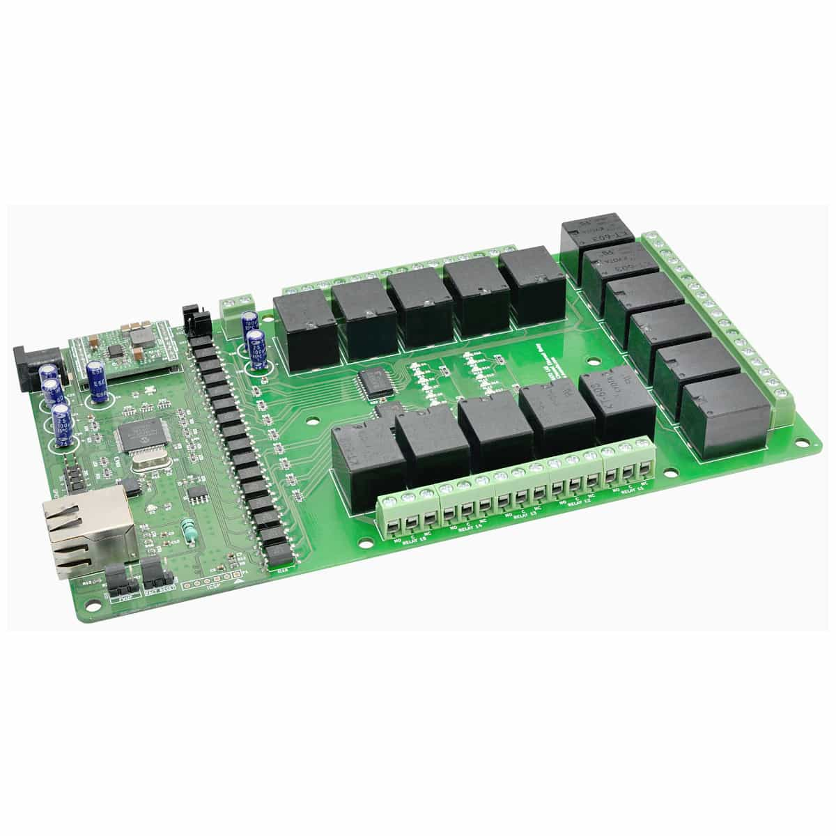 32 Channel Ethernet Relay Module With Gpio Numato Lab Switch Over 11995 Select Options 16