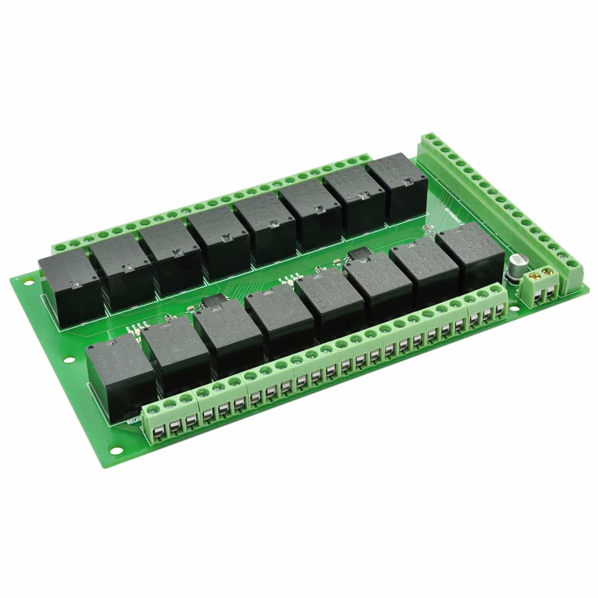16 Channel Ttl Compatible Relay Controller Board Numato Lab Switching Current In