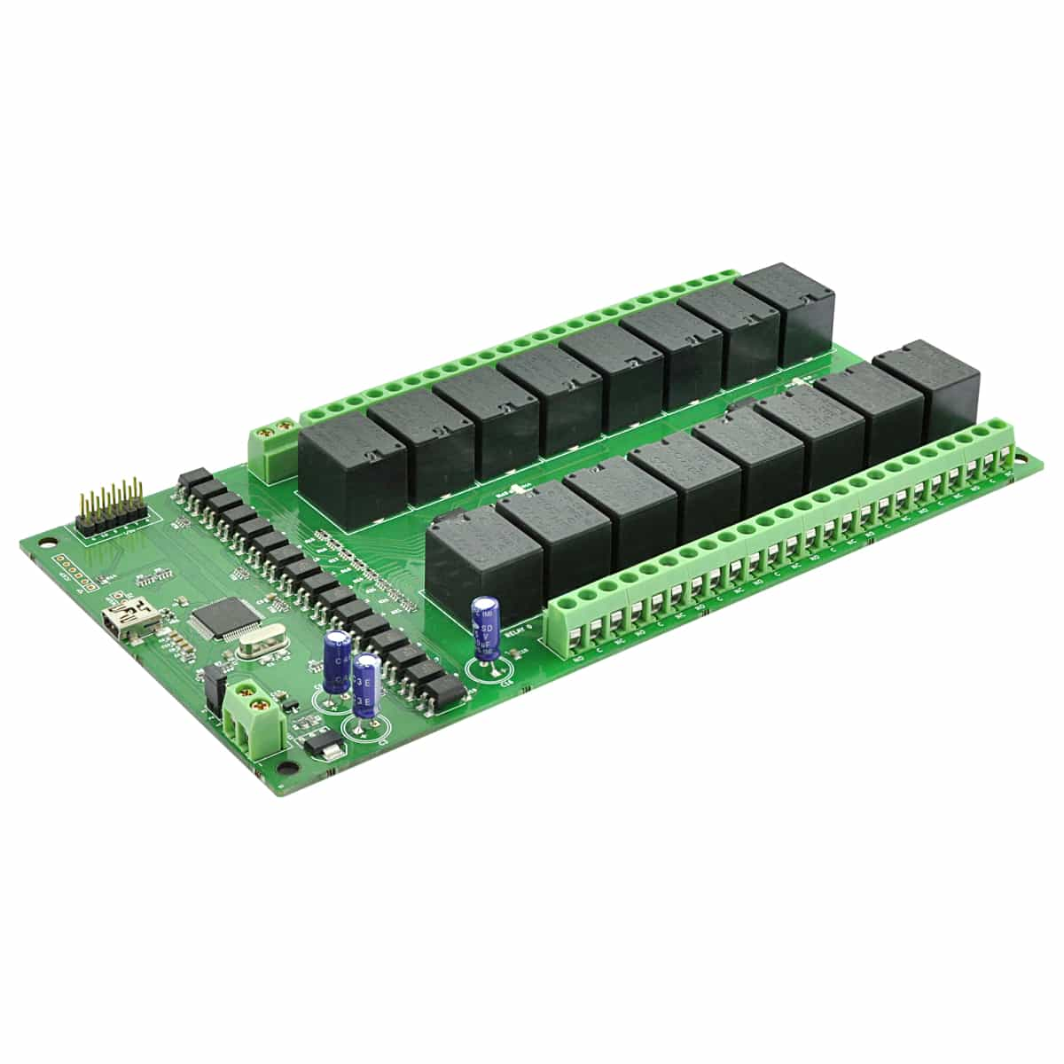 16 Channel Usb Relay Module With Gpio And Inputs Numato Lab 12v Spdt Price