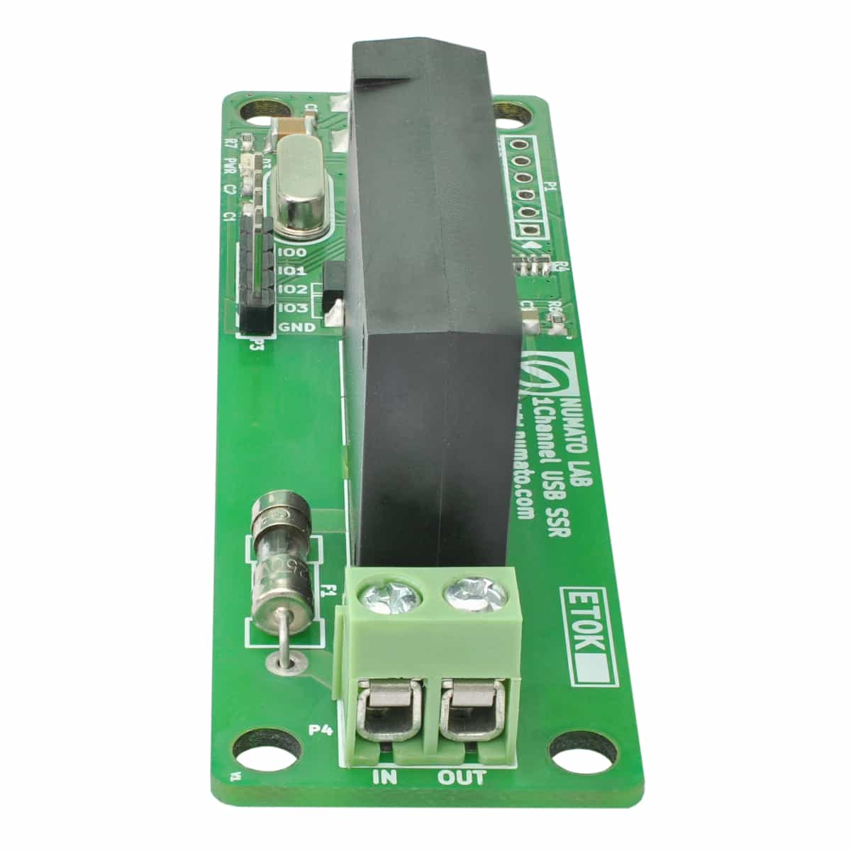 1 Channel Usb Powered Solid State Relay Module Numato Lab