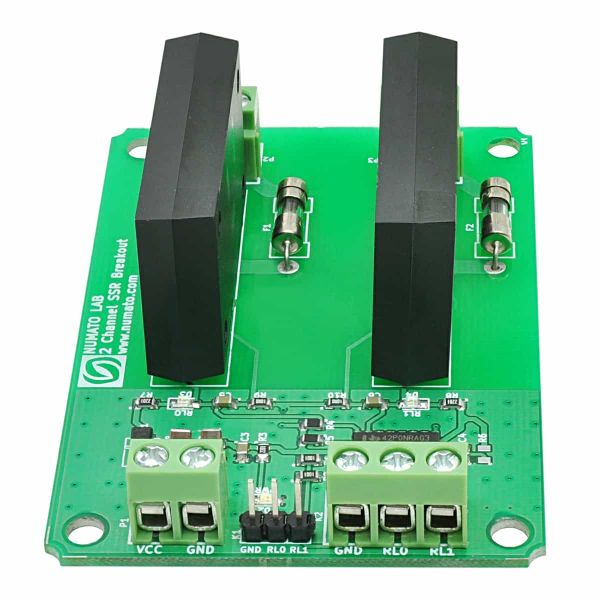 2 Channel Solid State Relay Breakout Board