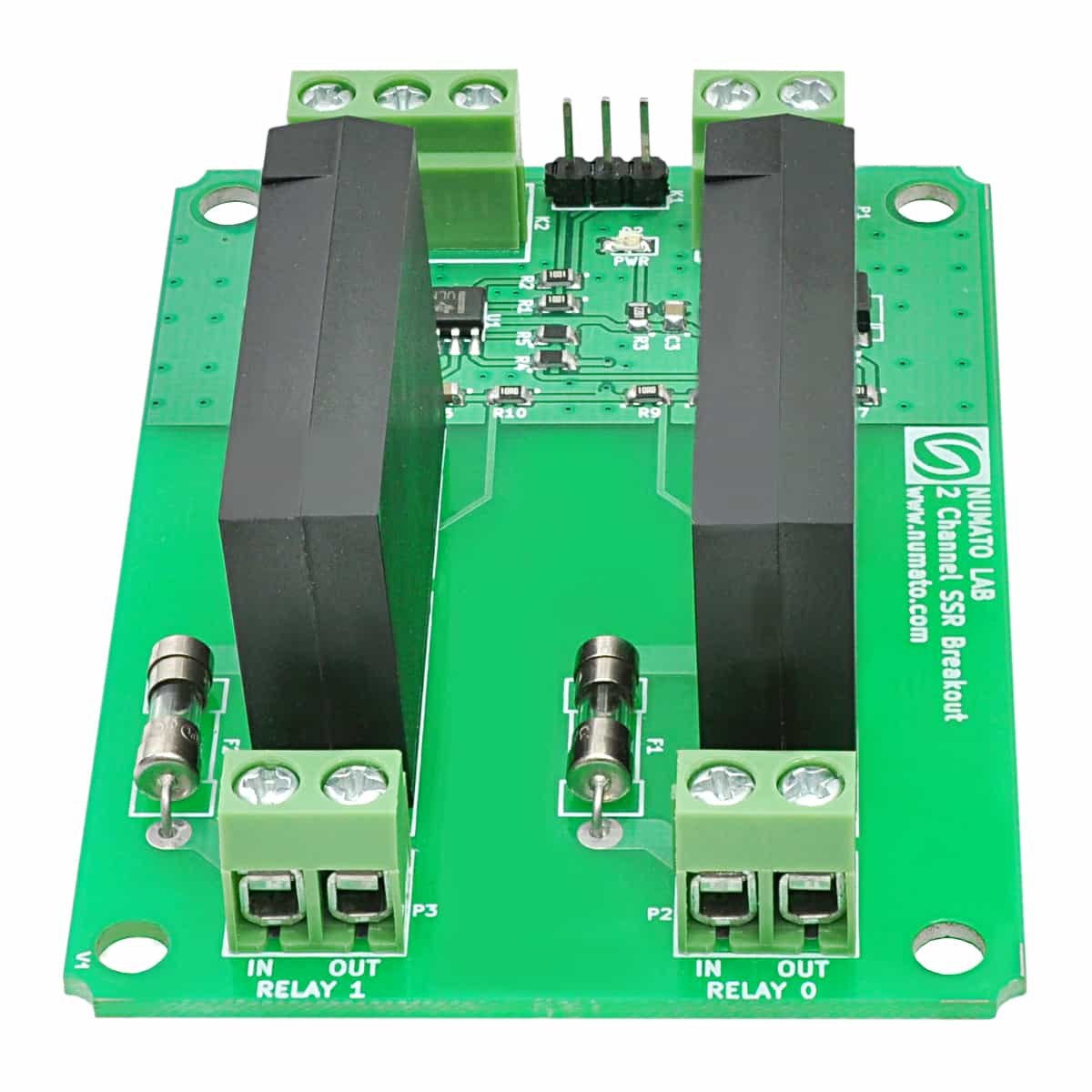 2 Channel Solid State Relay Controller Board Numato Lab In A Ssr The Circuit Is Not Everything Pcb Engineering