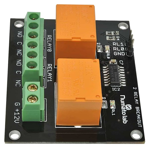 2 Channel Relay Controller Board