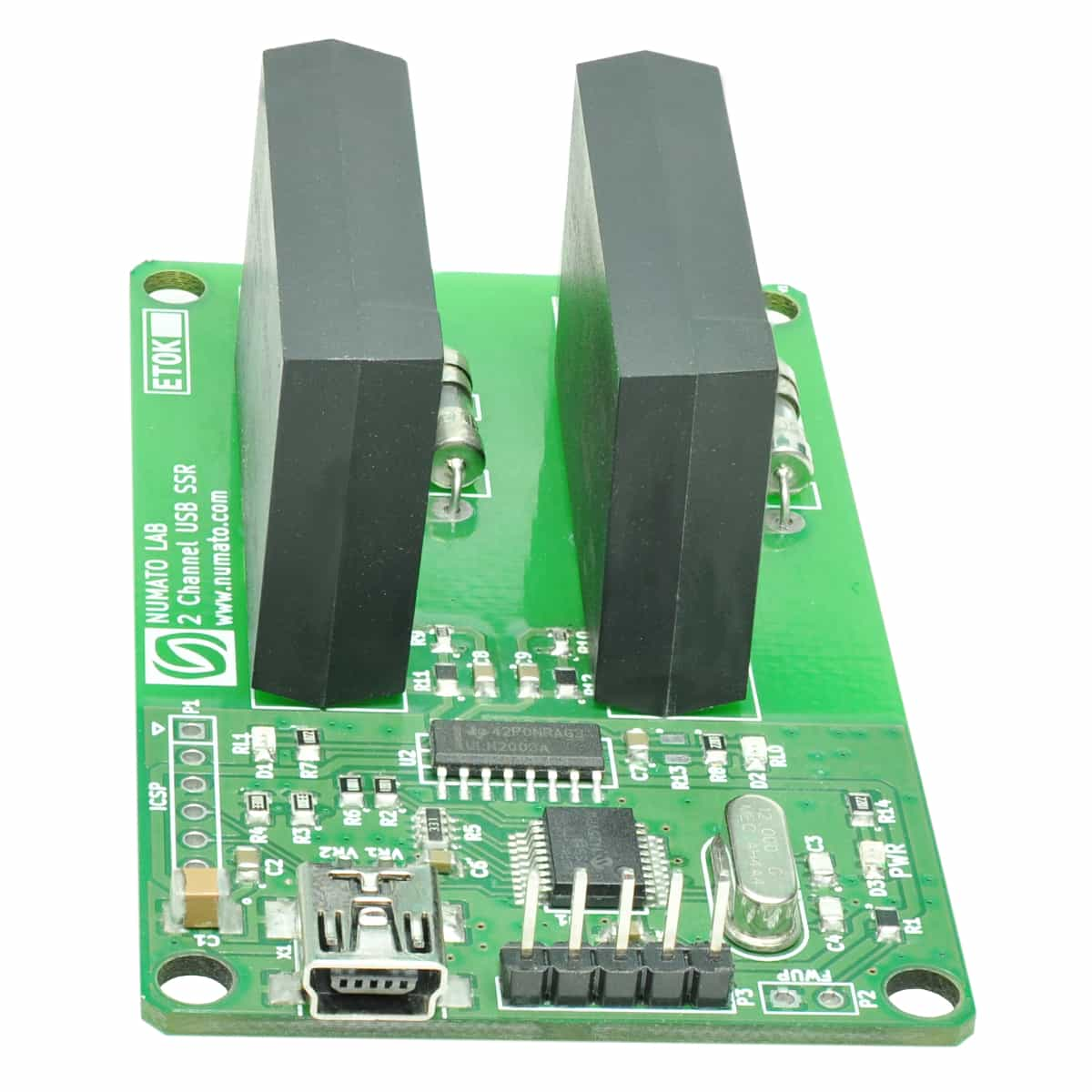 2 channel usb solid state relay module with gpio numato lab rh numato com Solid State Relay Wiring Diagram usb solid state relay board