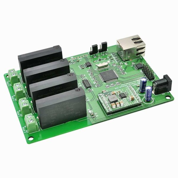 4 Channel Ethernet Solid State Relay Module