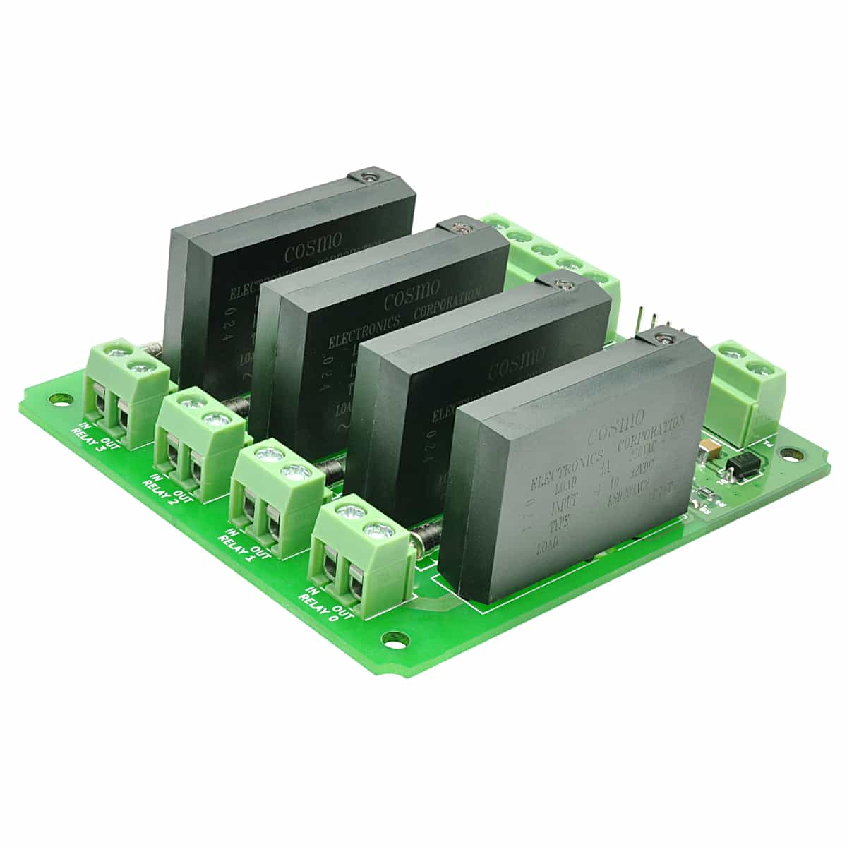 4 Channel Solid State Relay Controller Board Numato Lab Electronic Dc