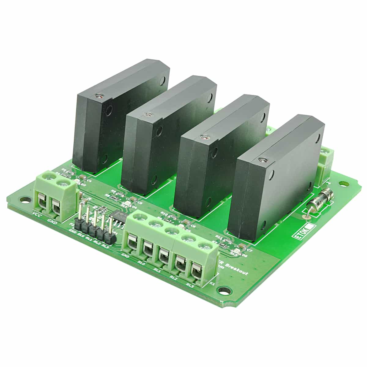8 Channel Solid State Relay Controller Board Numato Lab Switch 4