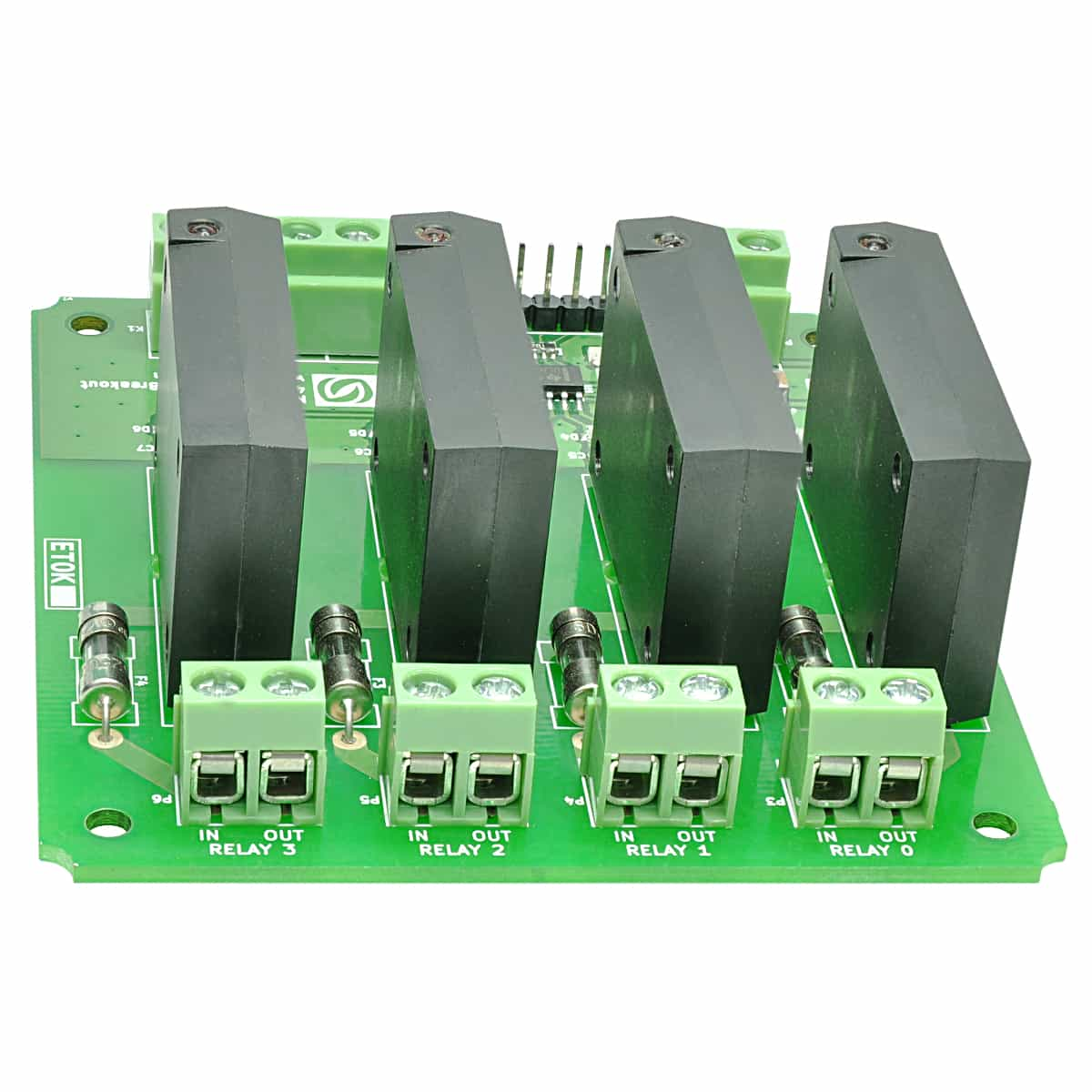 4 Channel Solid State Relay Controller Board Numato Lab Dc Power Relays