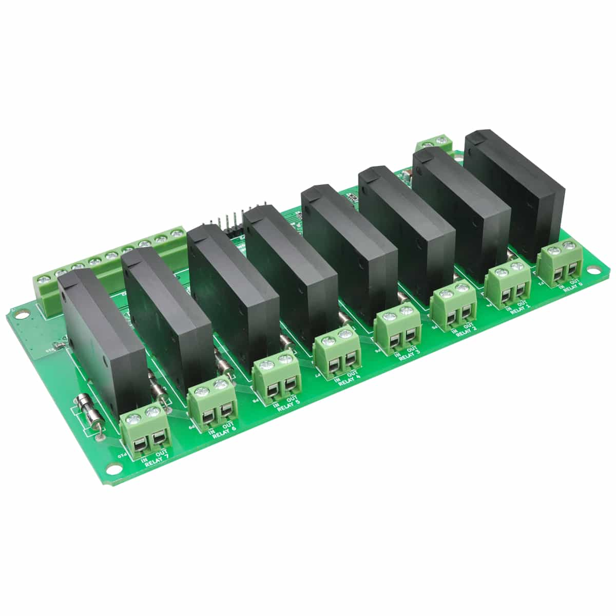 8 Channel Solid State Relay Controller Board Numato Lab Control Circuit