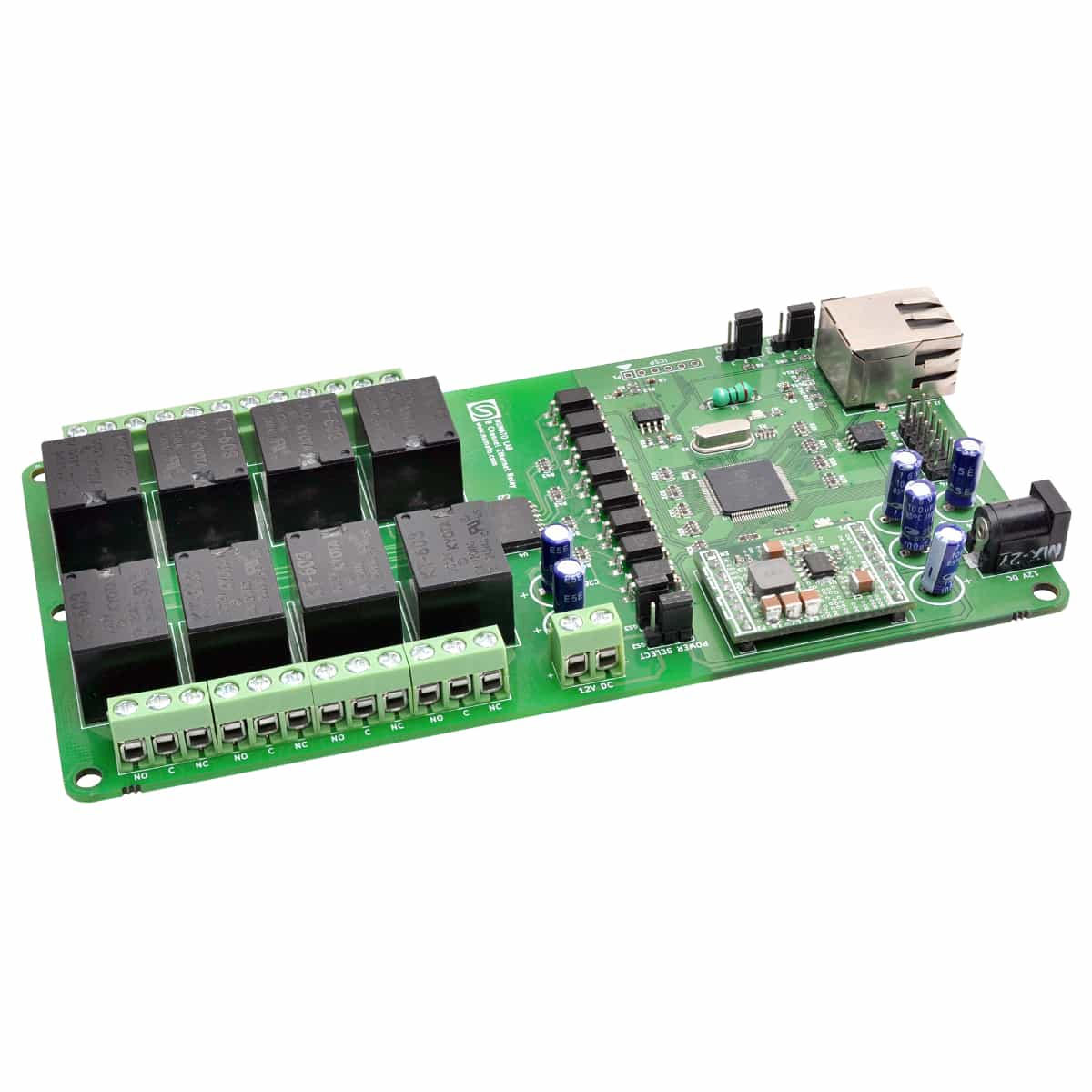 8 Channel Ethernet Relay Module With Gpio Numato Lab Electronic Operation Pdf
