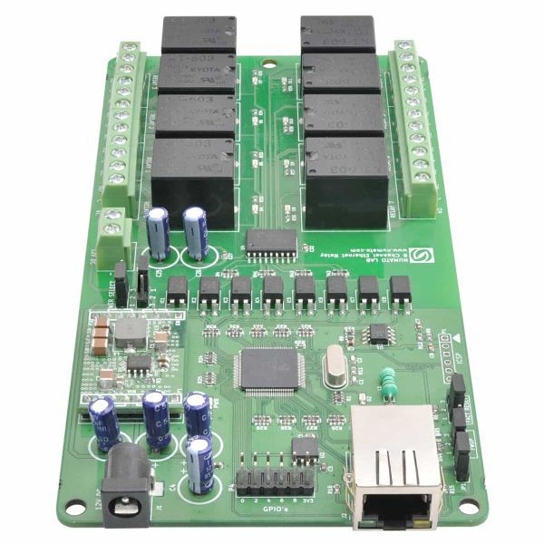 8 Channel Ethernet Relay Module
