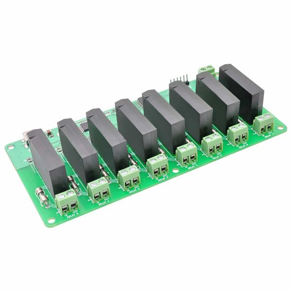 8 Channel USB Solid State Relay Module