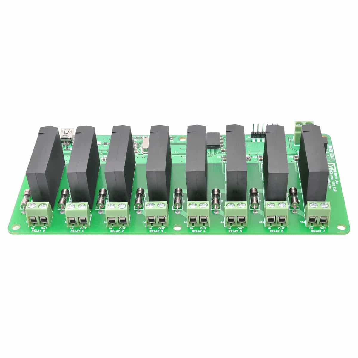 8 channel usb solid state relay module with gpio numato lab rh numato com Solid State Relay Wiring Diagram solid state relay usb control with enclosure